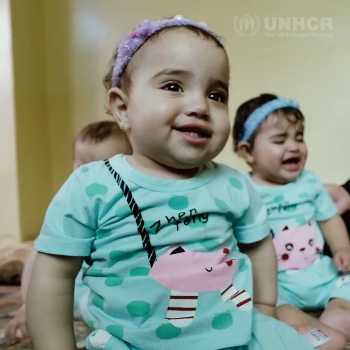 Walaa was shocked to learn she was expecting four daughters, but despite struggling to meet their needs she draws strength from her little 'miracles.' trib.al/y80IlWX