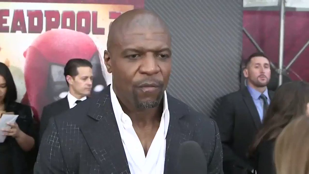 .@terrycrews talks #Marvel secrecy and becoming a superhero at the #Deadpool2 premiere https://t.co/xQQdGP9wMB https://t.co/ZREjPC5JiK