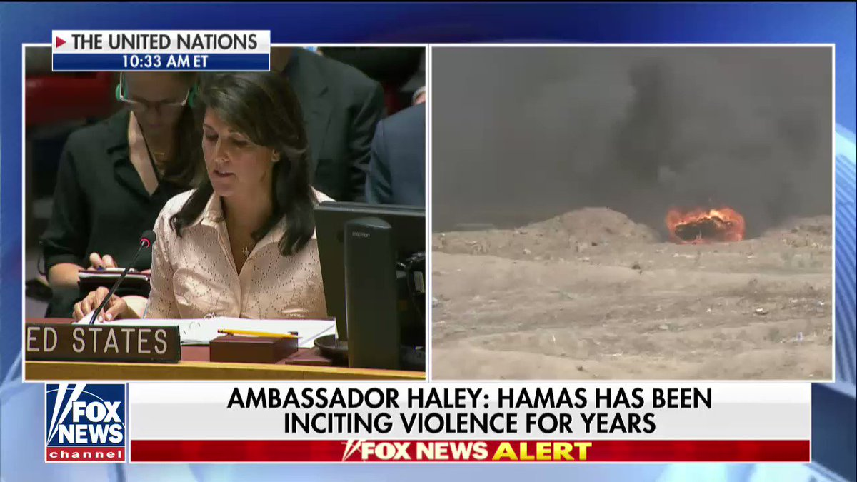 ".@nikkihaley: ""Moving our embassy to Jerusalem… reflects the reality that Jerusalem is the capital of Israel."" https://t.co/36S5xd8ces"
