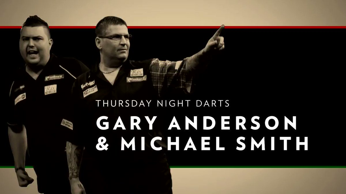 This weeks #THROWbackThursday goes out to the dynamic darts duo @GaryAnderson180 & @Bullyboy180 🎯#DartsBBCA