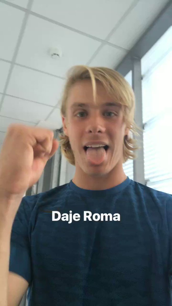 @denis_shapo is familiarizing with Rome. Well done! ��  #ibi18 #tennis #ATP https://t.co/mKfa3Z3NTK