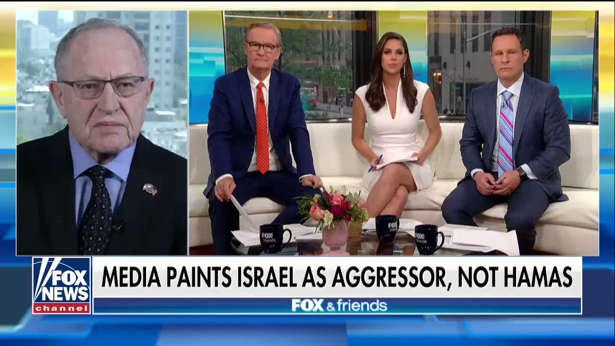 ".@AlanDersh: ""[@netanyahu] is desperately trying to figure out ways to reduce the number of casualties."" https://t.co/4GEhxPLhme"