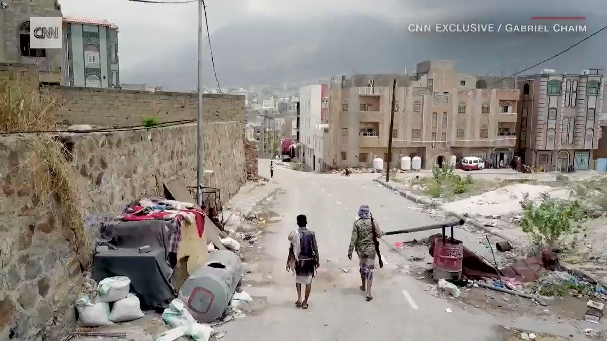 It's a war you rarely see. Now rare drone footage shows a Yemen city in ruins: https://t.co/nmTi8uVCMV https://t.co/7qn4qPDORk