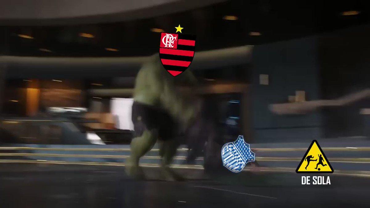Deu @Flamengo NO MARACANÃ! ��⚫ https://t.co/DOxNegEhuX