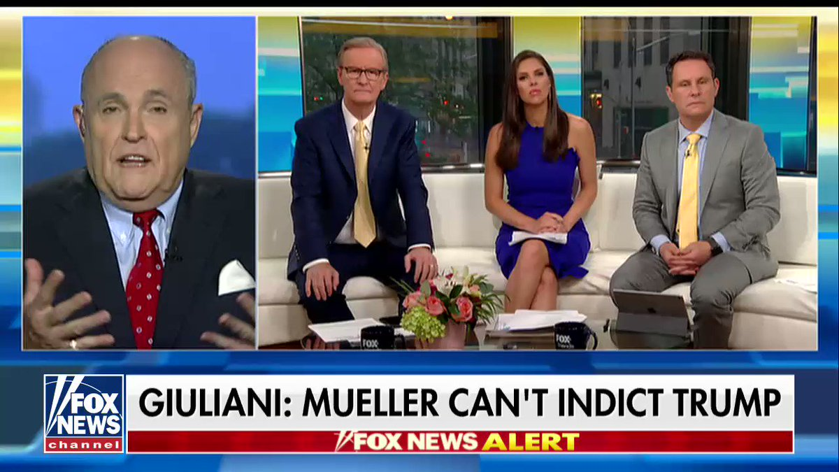 Rudy Giuliani: 'They didn't have the power to indict.' https://t.co/3LaCtYQOh3