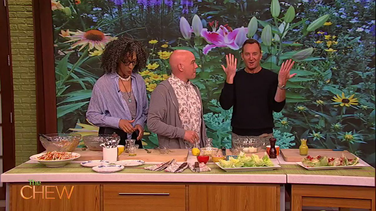 .@Clinton_Kelly gives you two takes on making delicious Blue Cheese Dressing at home! #TheChew