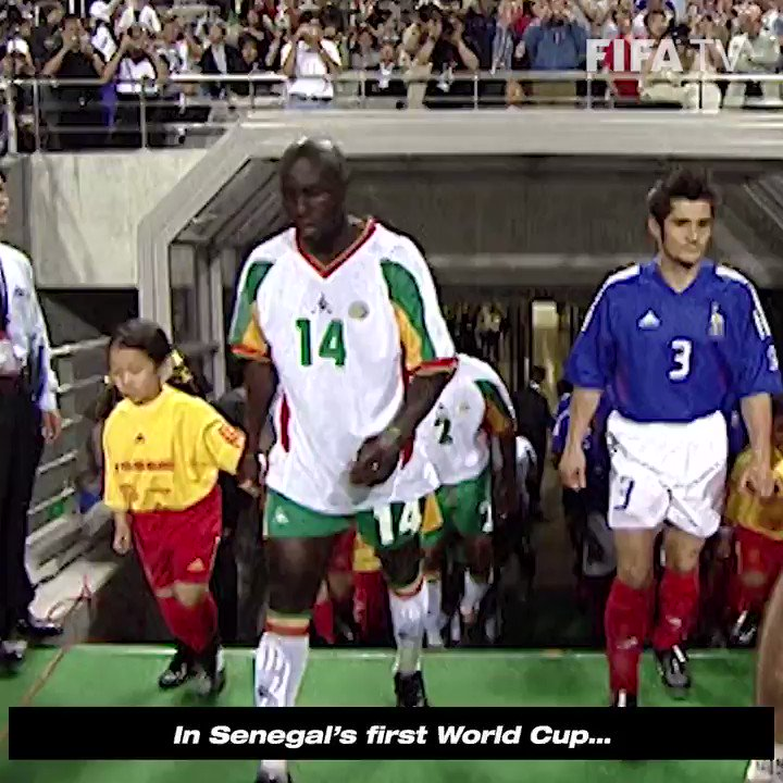 Among Diop's many accomplishments, he will always be remembered for scoring the opening goal of the 2002 World Cup. RIP, Papa Bouba Diop.