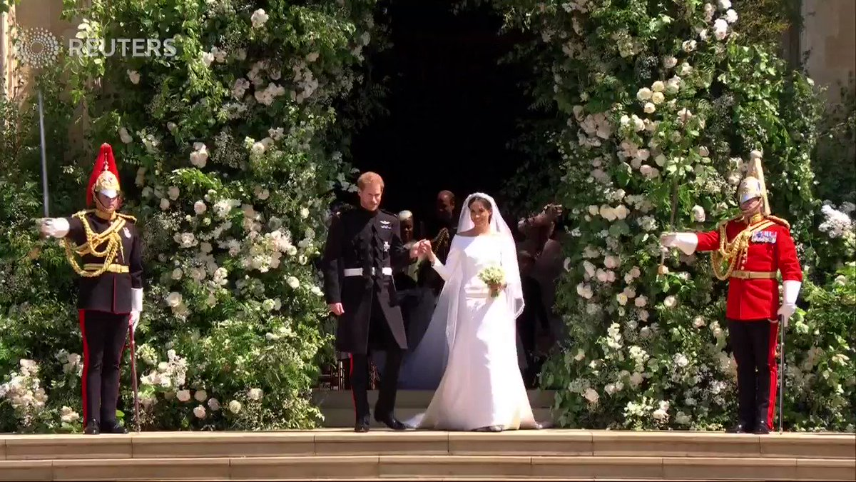 The most popular videos of 2018: Prince Harry and Meghan Markle leave church after marriage ceremony, kiss #royalwedding