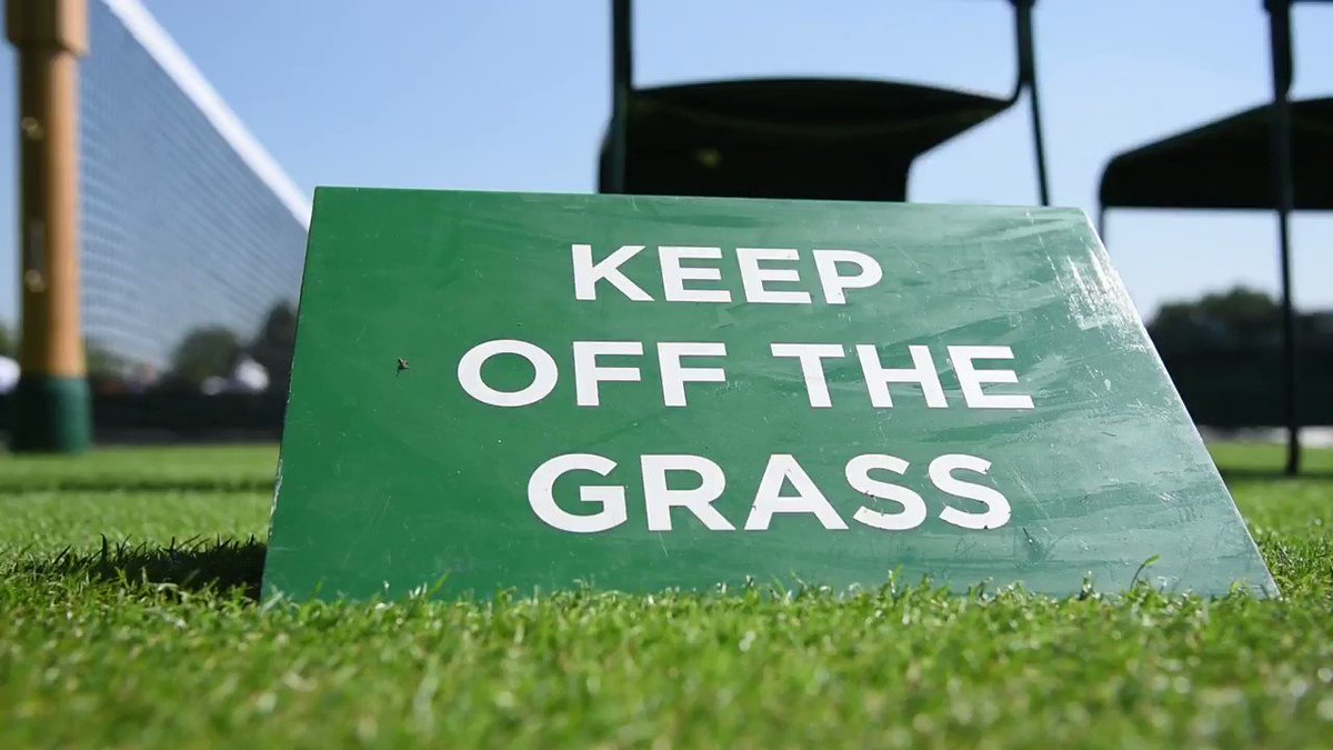 Ready? Play.  As of today, the #Wimbledon grass courts are officially open for action �� https://t.co/gj2JgLs7N0
