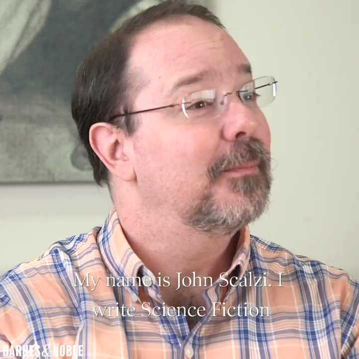John @scalzi talks with us about his new novel HEAD ON and what he hopes readers will take away from his book having a gender-neutral protagonist: spr.ly/6010D5QBA