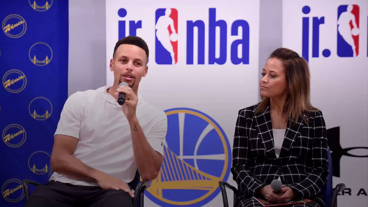 Steph Curry's mom told him to wash his mouth out with soap after cursing