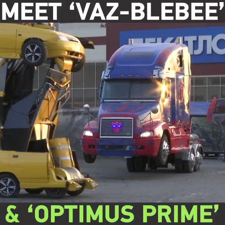 Meet Russian Transformers Vaz Blebee Optimus Prime