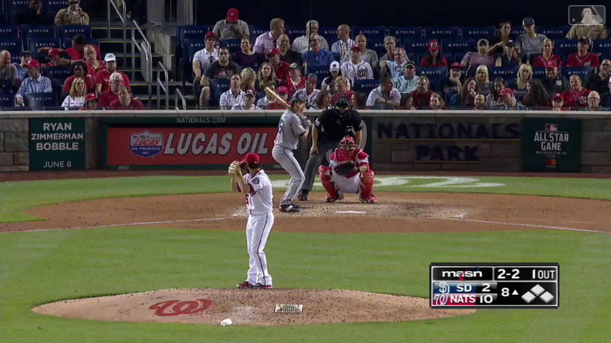 3+ years and 2 Tommy John surgeries later … @Timcollins55 records a K tonight for the @Nationals. �� https://t.co/7DorUYjY5B