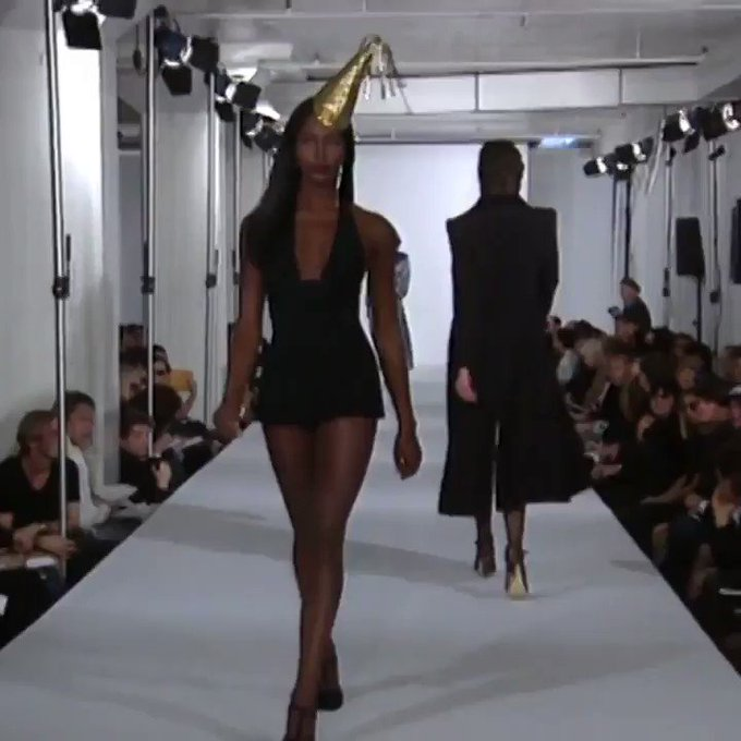 Happy Birthday to the one and only Naomi Campbell  : Marc Jacobs Spring 1995