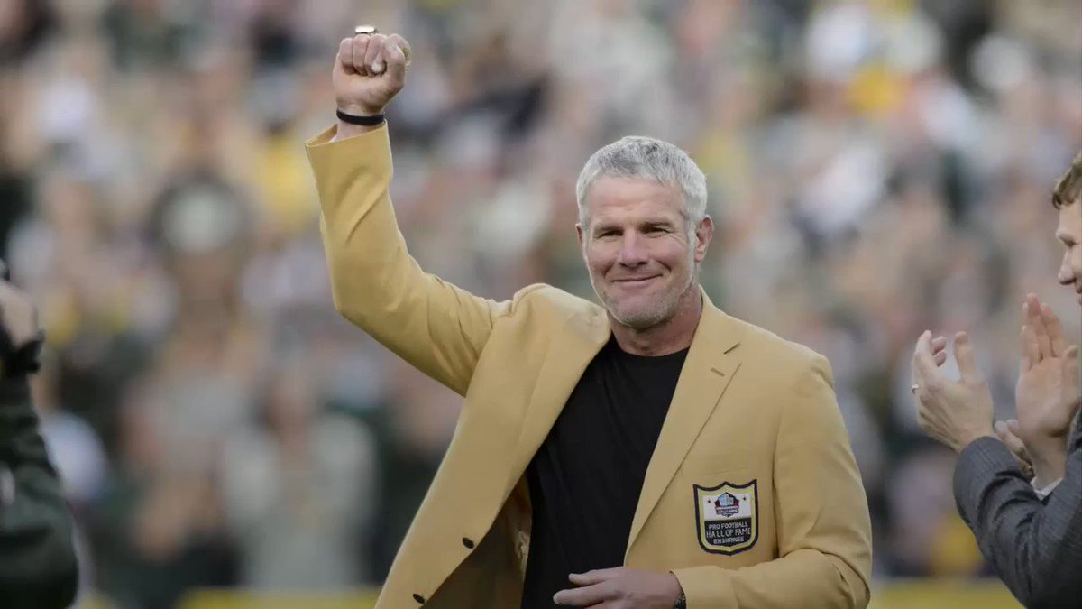 Brett Favre went to rehab 3 times during career with Packers
