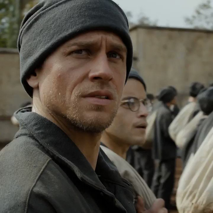 Charlie Hunnam and @ItsRamiMalek plan a jailbreak in the first #PapillonMovie trailer https://t.co/9JHQ7Whvhb https://t.co/LZi3MFIWVd