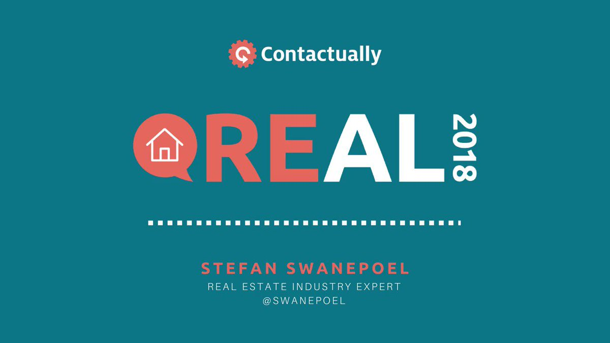 Real Estate Industry Expert, @Swanepoel knows how to keep up with changes in the #realestate industry. What are you doing to stay ahead of the curve? #Real2018