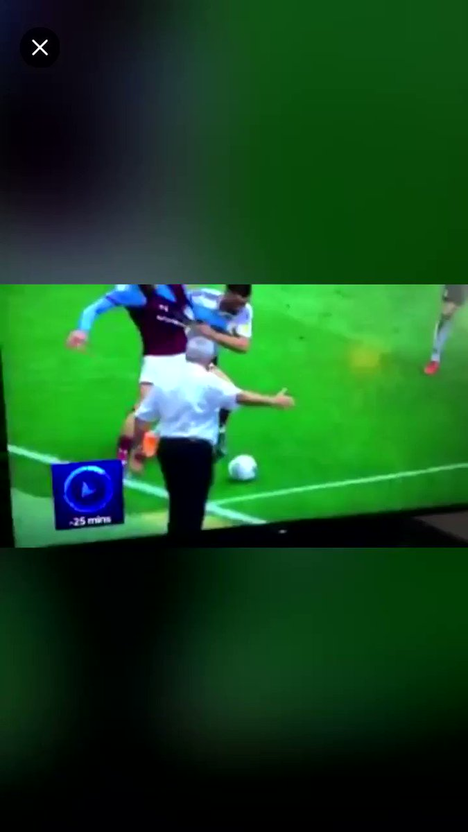 How is he on the pitch!?! #avfc #utv