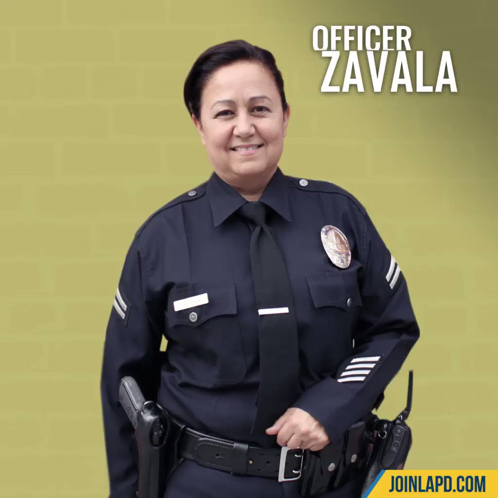 Image for the Tweet beginning: One of Officer Zavala's best