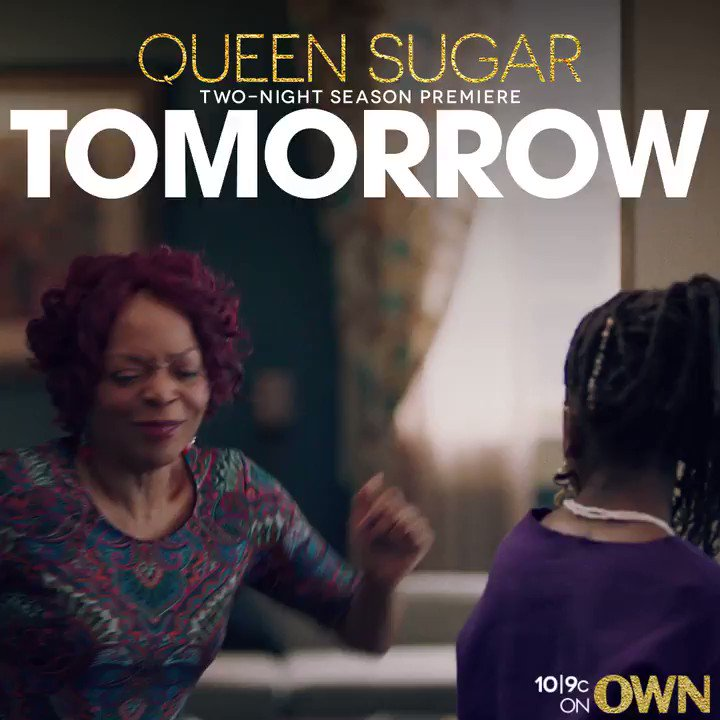 That feeling when you realize the new season of #QUEENSUGAR begins TOMORROW, 10|9c.