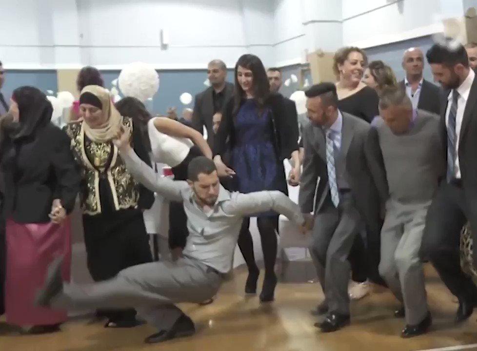 Lebanese Dabke dance is my new mood.. 😭😭👏🏽👏🏽