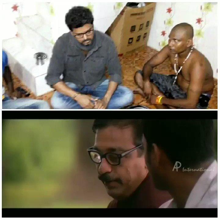 #Thalapathy For a Reason 🙏   Ipadi Oru #Manusanukku Naan #Rasigana , Oru #Thambiya Irukkrathulla ... Romba #Perumaiya  Iruku 🙏 🙏   En Uyir #Vijay Annaaaa ❤