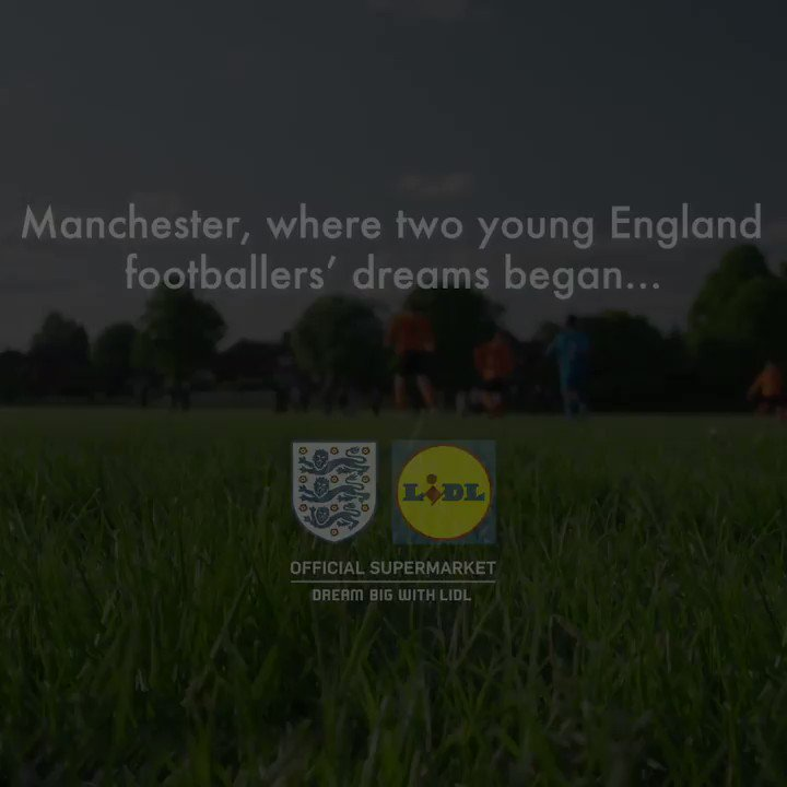 Next up in our #DreamBigWithLidl series, we look back at the early days of @marcusrashford and @jesselingard who started their journey to the @England team at the same local football club. Keep your eyes peeled for @youngy18s background story coming soon.