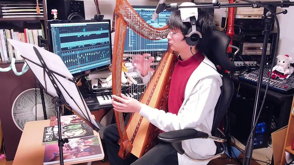 #楽器の日 ということで、変な楽器いっぱい使ってる曲を! フル →