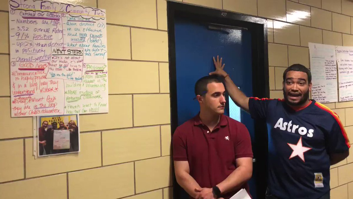 Parent Coordinator, Mr. Medina, speaking to MSTA staff on Chancellor's Day about the importance of building Strong Family-Community Ties @CSD12Bronx @AP_MSTA @MSTA1PC