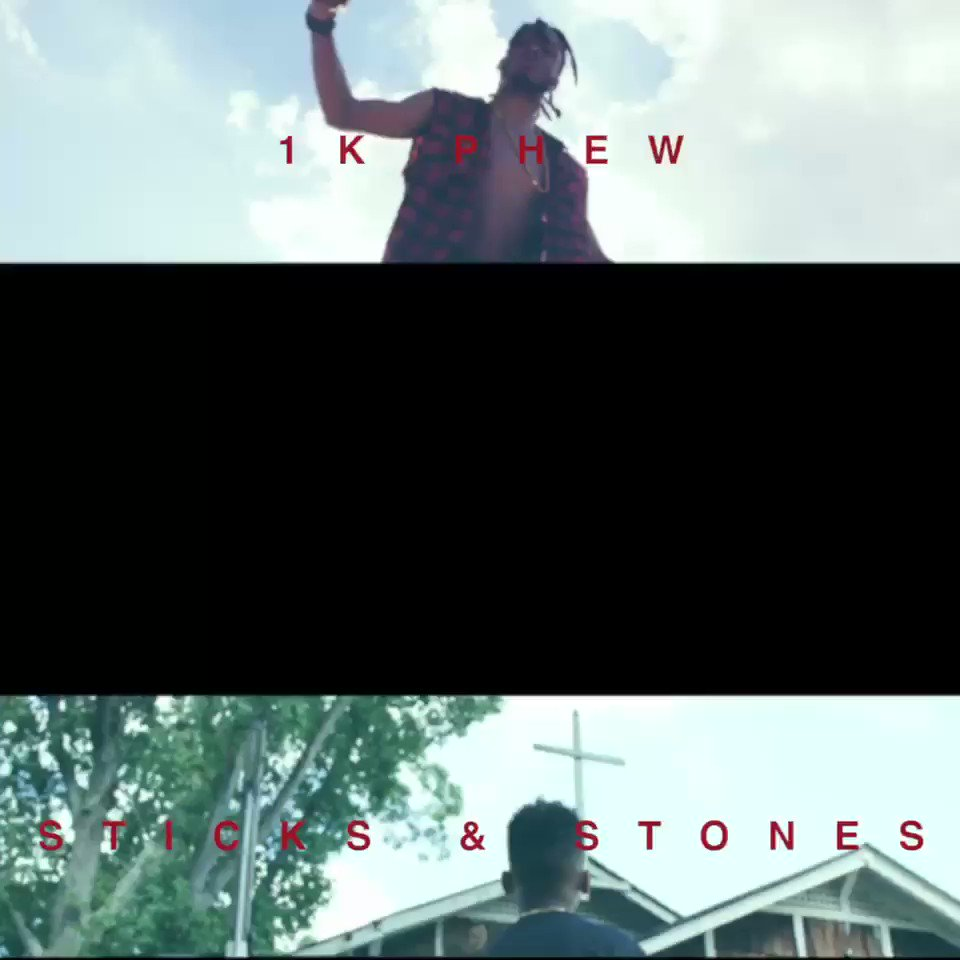 """youtu.be/pep4t5ZsKSw """"STICKS & STONES"""" OUT NOW‼️"""