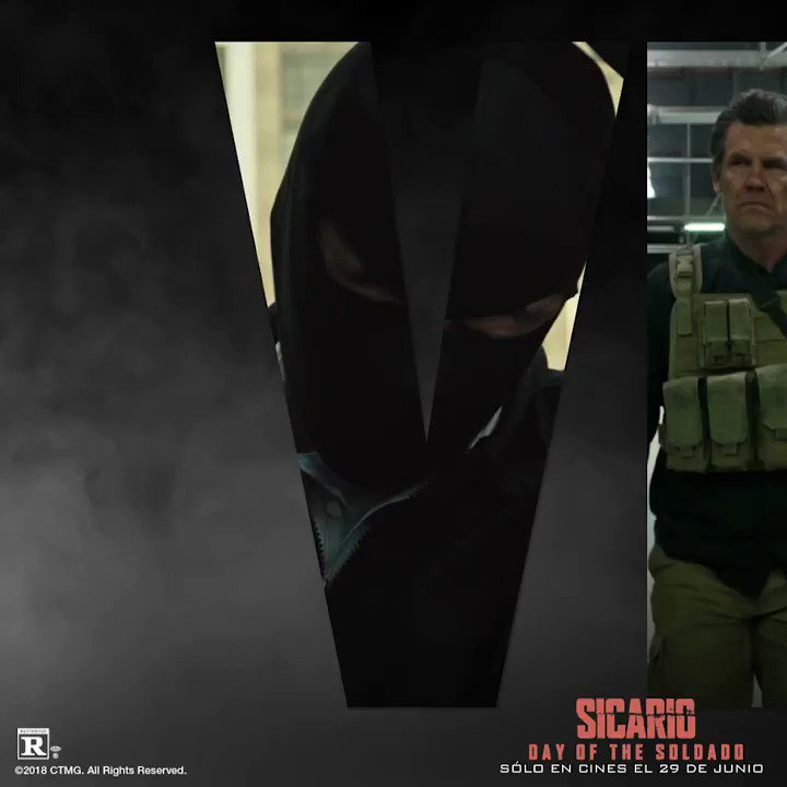 Excited to see the next installment of @SicarioMovie SICARIO: DAY OF THE SOLDADO out in theaters June 29! #SicarioMovie @SonyPictures