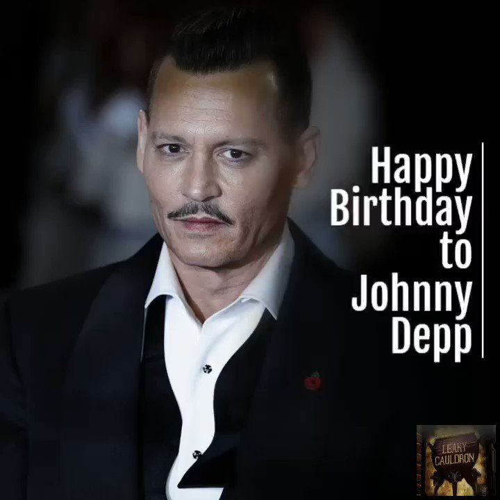Today marks the birthday of Johnny Depp, who portrays Gellert Grindelwald in the @FantasticBeasts series.