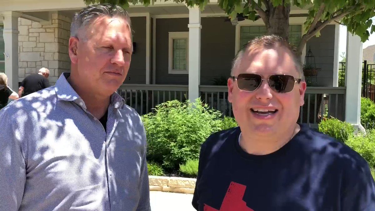 Pray for the Southern Baptists sharing the gospel across Dallas-Fort Worth today. Pastor @johnmeador is on the ground with @joelsoutherland. Watch their update! #SBC18 #SBCAM18