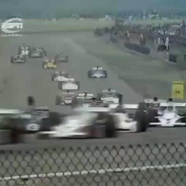 Happy Birthday Jackie Stewart! First lap of 1973 British GP at Silverstone