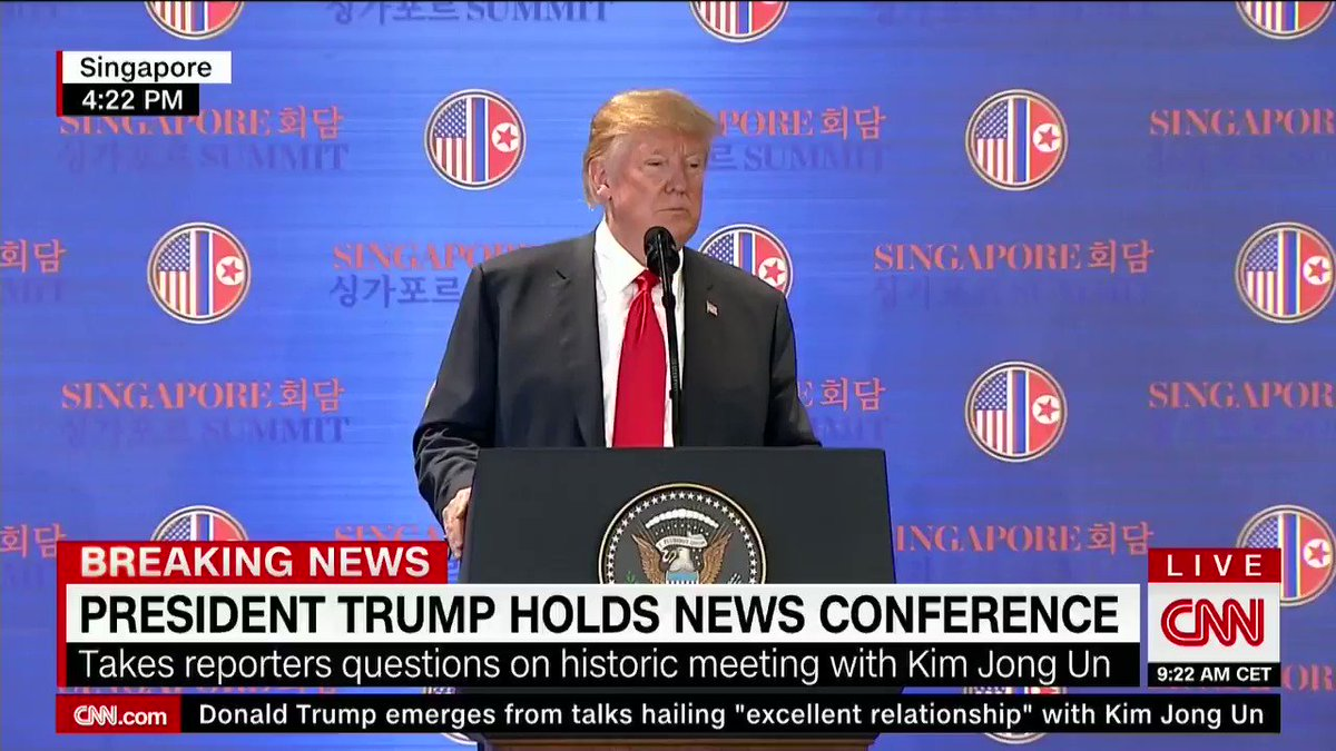 Trump says the #TrumpKimSummit wouldn't have happened without Otto Warmbier's death https://t.co/4g82ptghCA https://t.co/irl1s5itIc