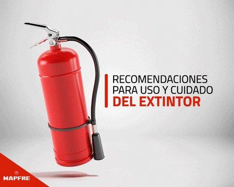 Un extintor es tu primera línea de defensa en caso de incendio en casa. Estar capacitado para su uso es vital. ¡Comparte esta valiosa información!