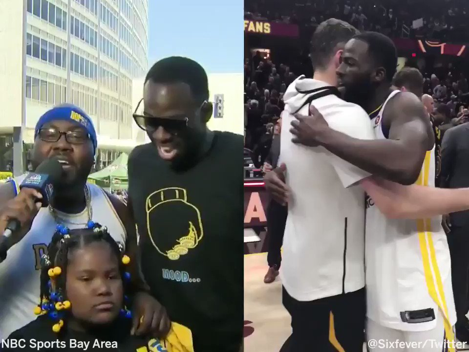 He tried to shake my hand, I said Tristan, we aint cut the same. –Draymond on not shaking hands with Tristan Thompson after Game 4.