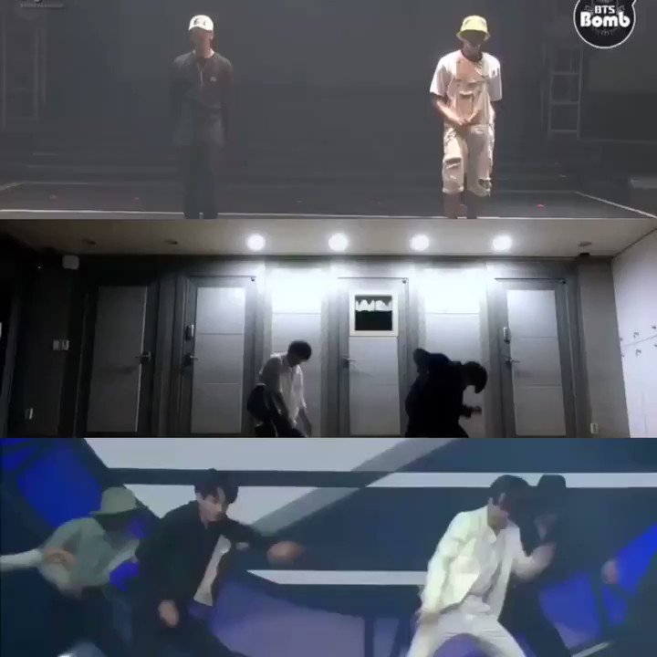 #BTSPROMPARTY jimin and jungkook evolution dance