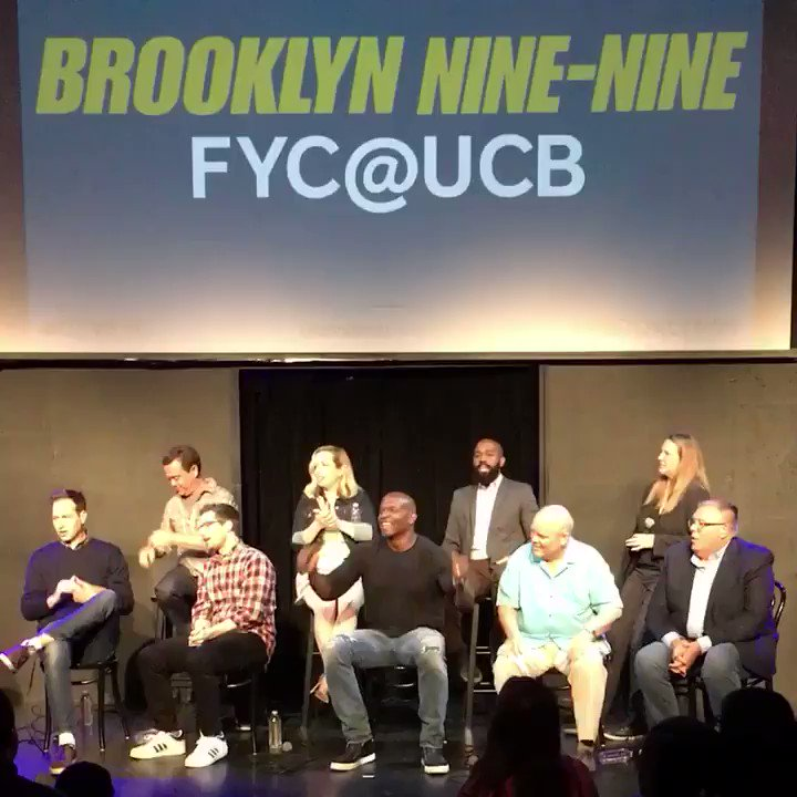That's a wrap on #Brooklyn99 #UTVFYC! Your favorite precinct will be back in action on NBC soon!❤️