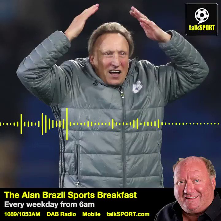 Can I last until Christmas?! 😂 #CardiffCity play Arsenal, Chelsea and Manchester City back-to-back in September 🙈 Manager Neil Warnock joined @SportsBreakfast earlier.