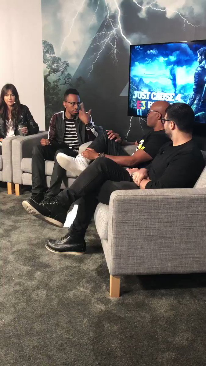 #justcause4 #E32018 @SpiderAnderson is HERE http://JustCause.com/E3