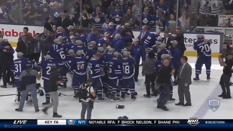 .@GopherHockey's Justin Holl wins Calder Cup with the Marlies, his postgame interview https://t.co/t9uoWNCYwD