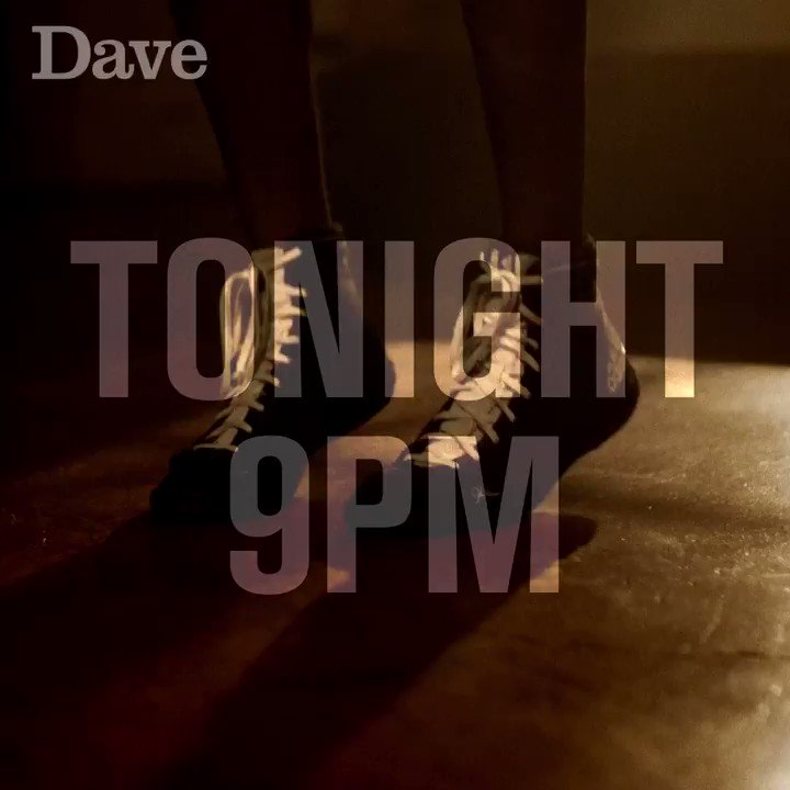 Get your gloves on, your trousers on, your shirt on, basically just get dressed because #DaveFightNight is tonight at 9pm!