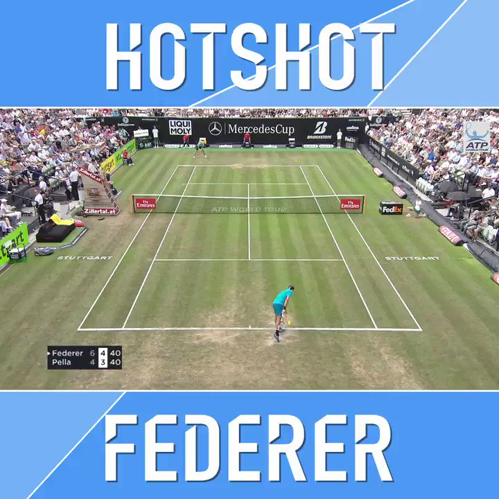 Three of our favourite words:  Federer. Hot. Shot. ��  #MercedesCup https://t.co/LSqsdgDwjm