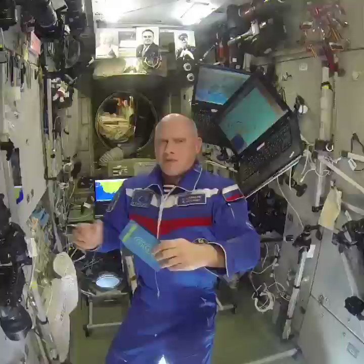 #GGG on the International Space Station #Levels