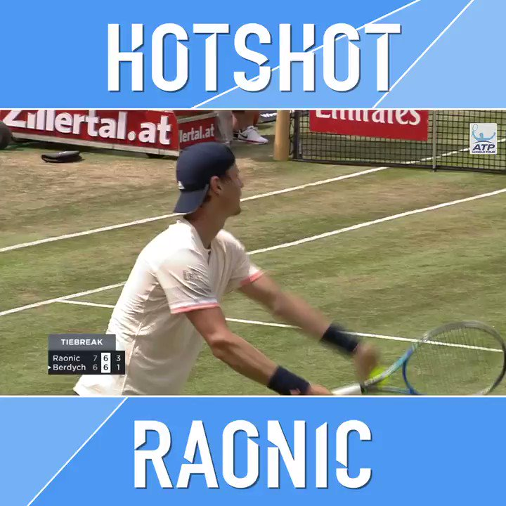 A roaring return from Raonic ��  Say that 10 times fast ��  #MercedesCup @milosraonic https://t.co/zWb3Zz0khB