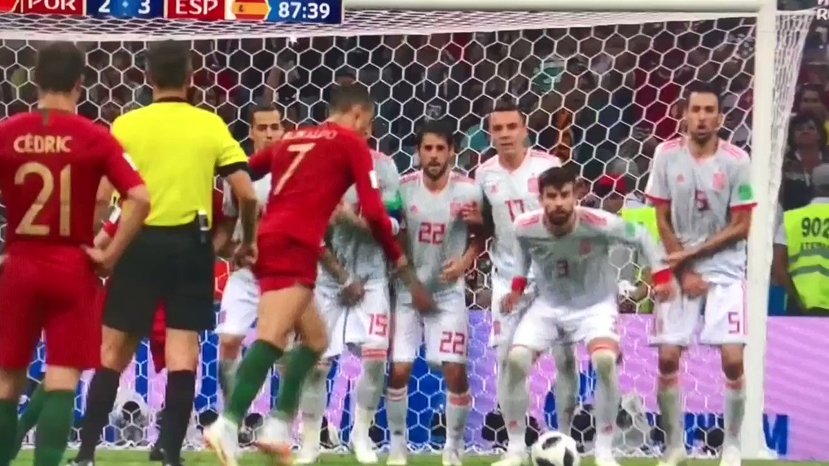 Omg!!! This dude ... #hattrick @Cristiano #WorldCup2018 #PortugalVsSpain
