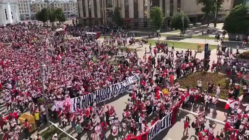 🇵🇪 Peru fans have invaded Russia..