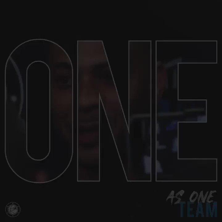 🔉🆙 #AsOne TEAM