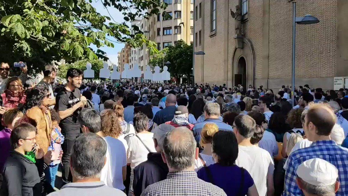 Llegada de la manifestación a Carlos III. #AltsasukoakAske